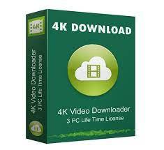 4K Video Downloader [v4.18.1.4500] Crack With License Key Free Download